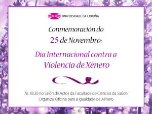 Cartel dia violencia de xenero